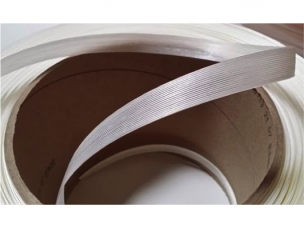 Fiche produit du feuillard polyester textile fil à fil