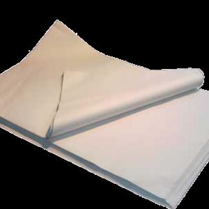 Fiche produit du papier mousseline blanc