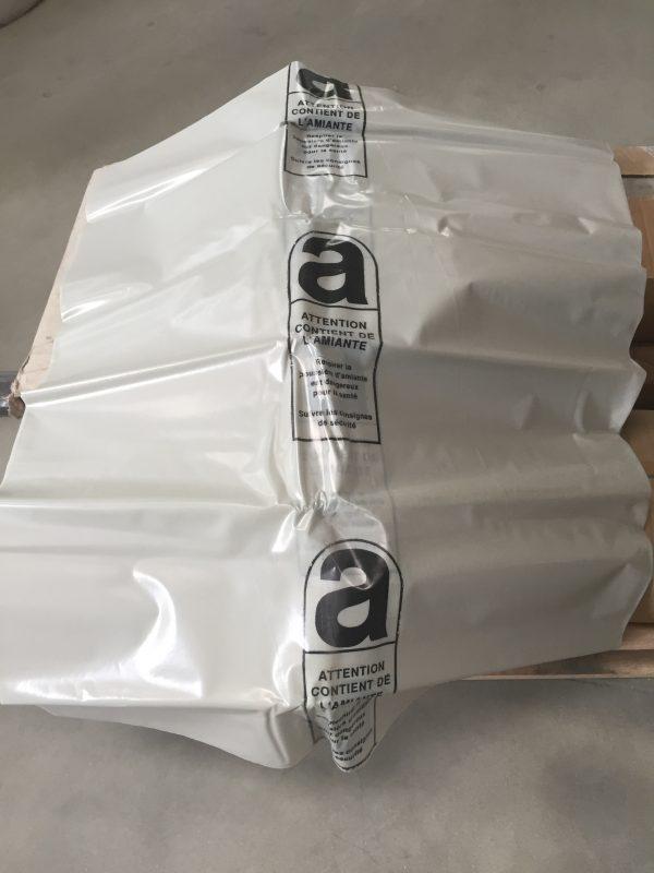 fiche produit du sac amiante de protection