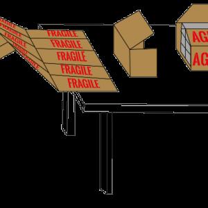 Fiche produit de la Plaque ZZ pliage accordéon impression fragile