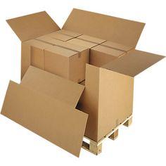 Fiche produit caisse carton avec abattants