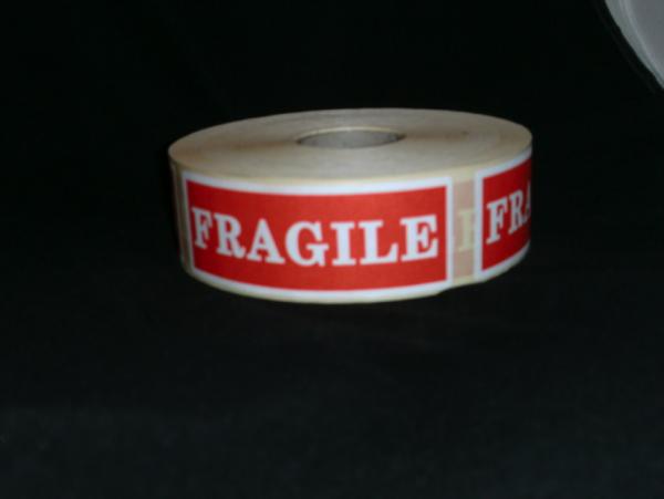 Fiche produit de la bobine à étiquettes fragile