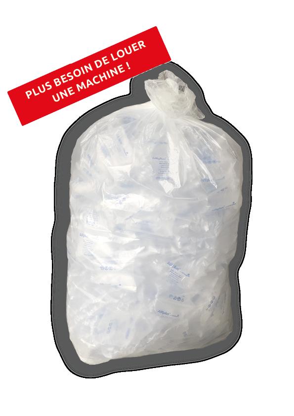 Fiche produit du sac coussins de calage