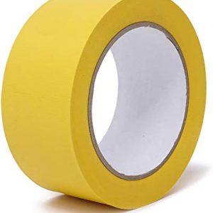 Fiche produit du Ruban adhésif jaune strié